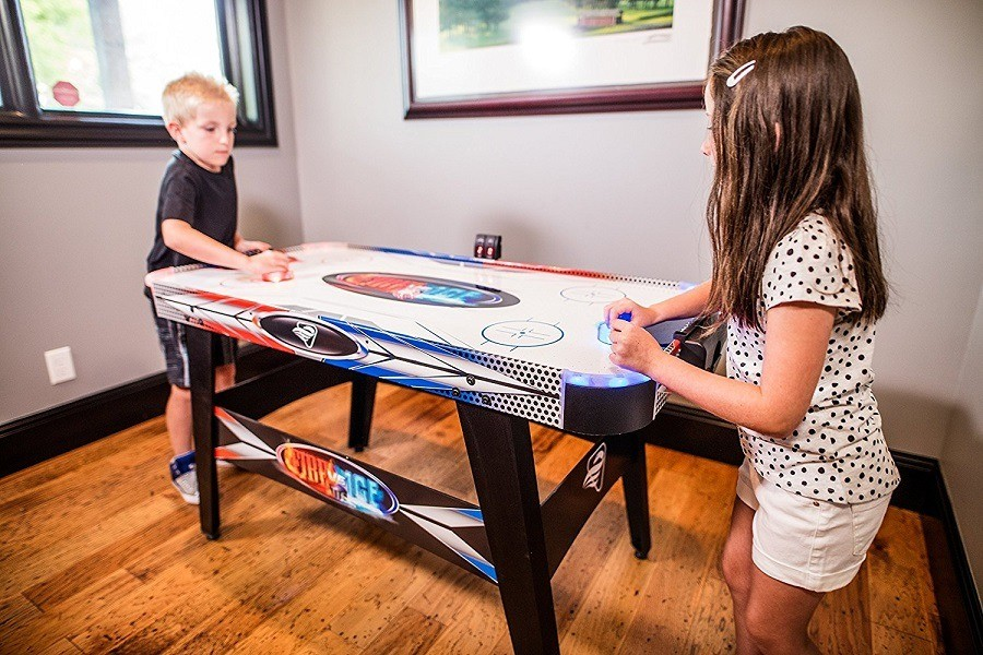 Everything you need to know about air hockey airhockeyplace ice hockey table for kids greentooth Image collections