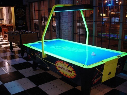 Example of an Arcade Air Hockey Table