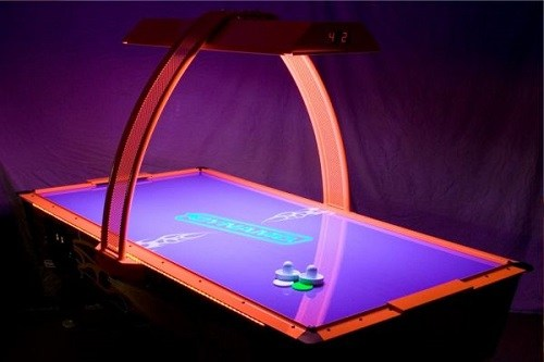 Example of an Electric Air Hockey Table