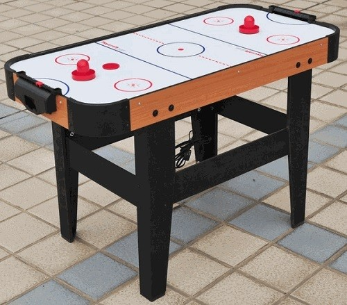 Playcraft Sport Table Top Air Hockey On Patio