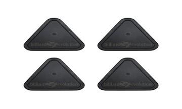 Black Triangle Air Hockey Table