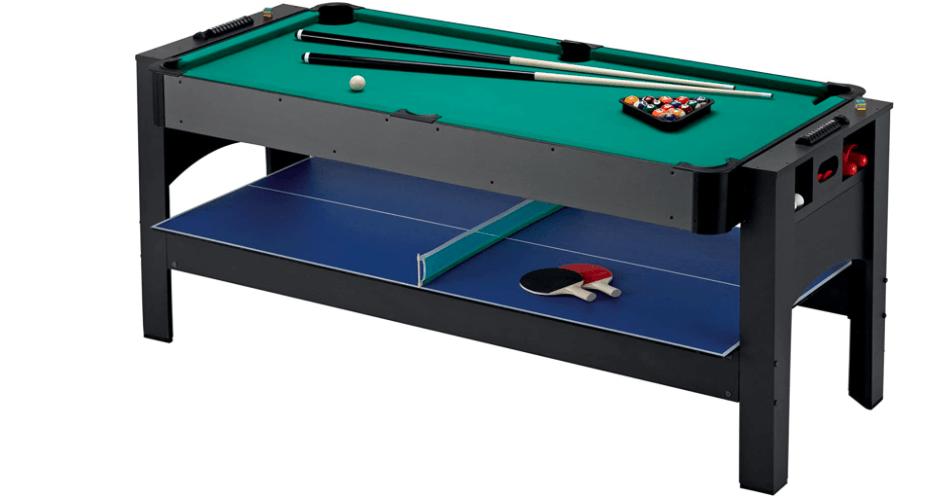 Fat Cat Orignal 3 in 1 6 foot air hockey table