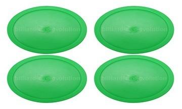 Large Green Round Pucks