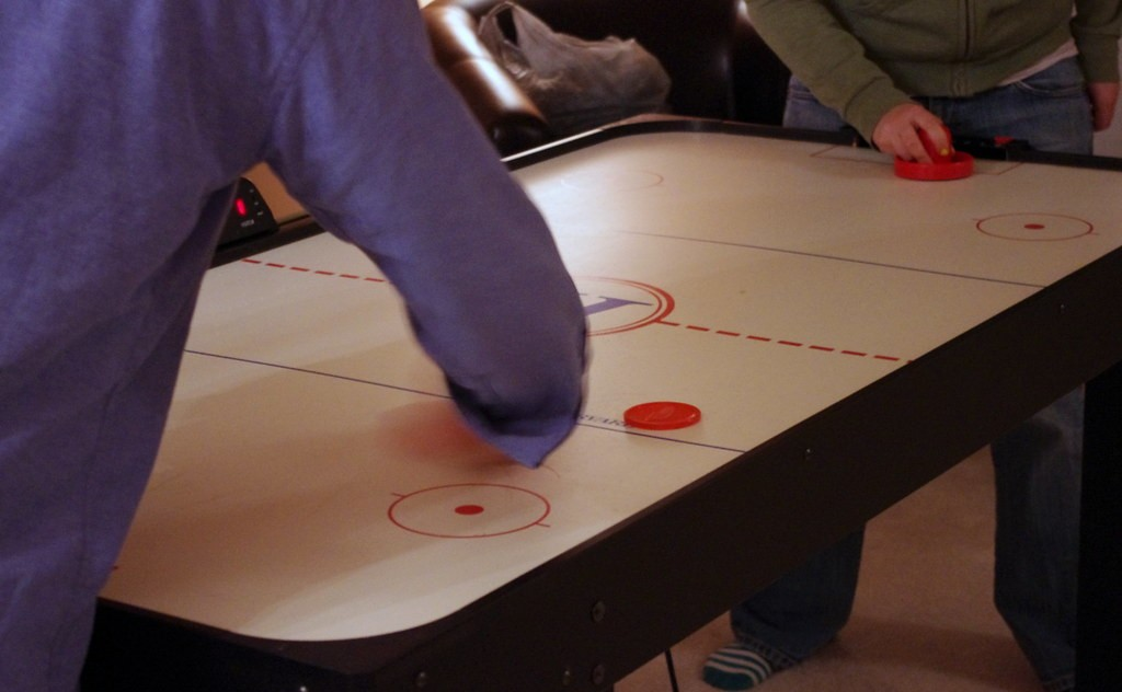 Everything You Need To Know To Be A Great Air Hockey Player