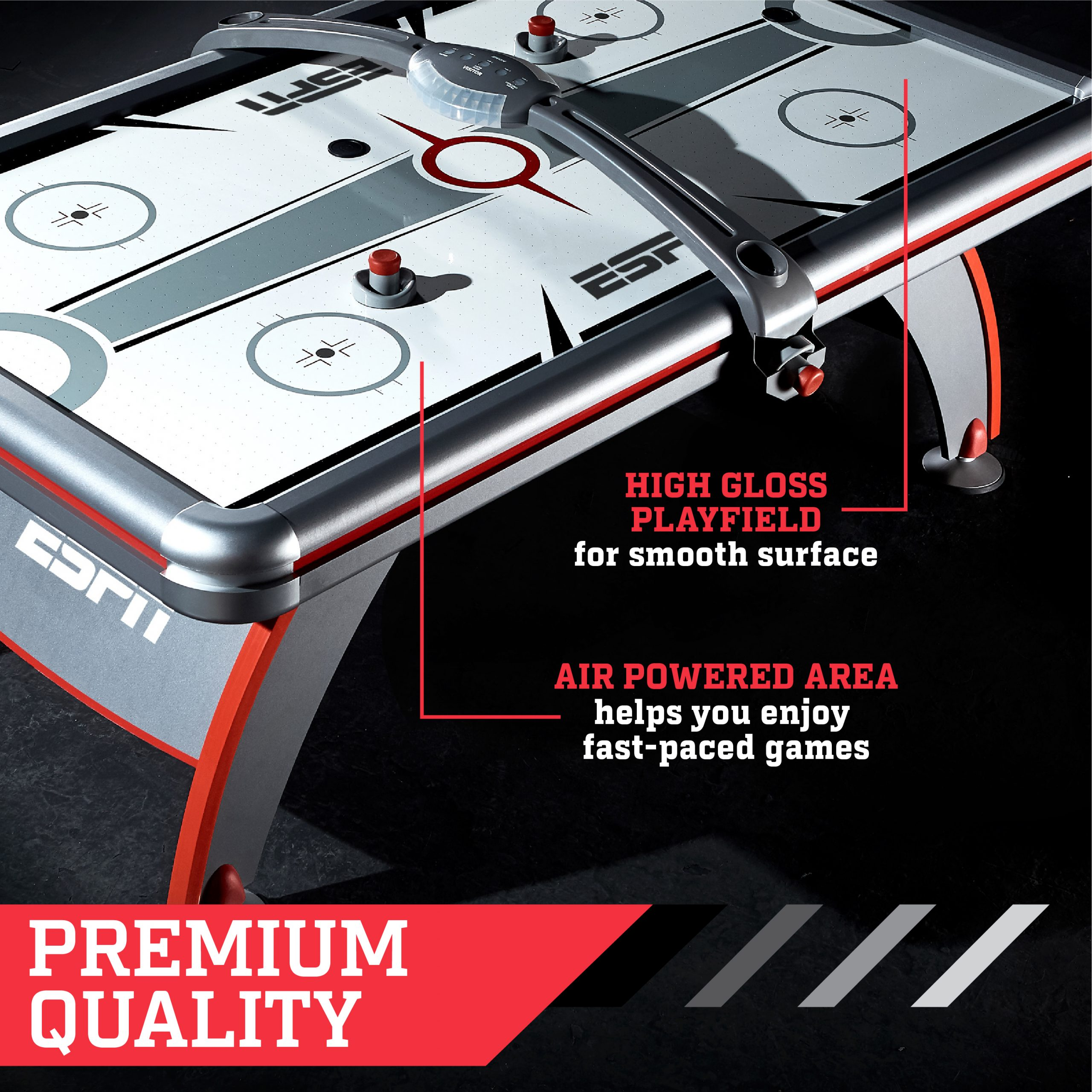 ESPN 84 Fast Line Air Powered Hockey Table Specs