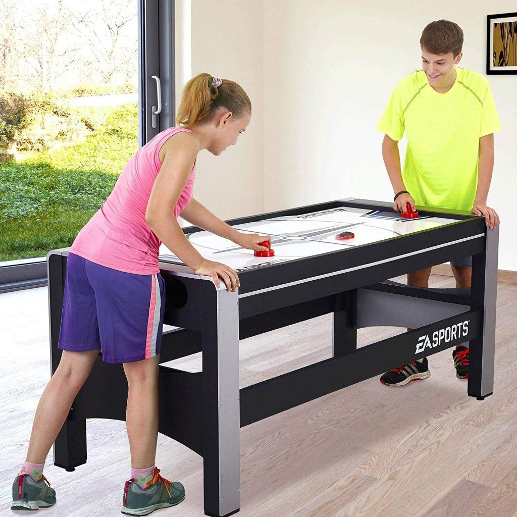 ESPN Multi Game Table 4-in-1 Swivel Combo Game Table Features