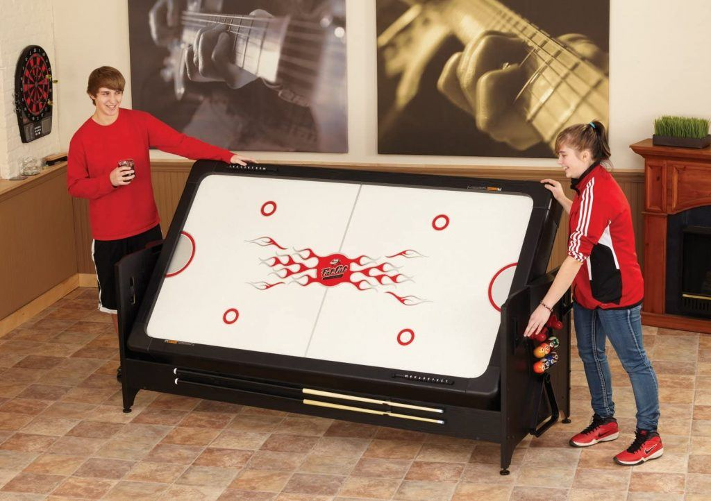 Fat Cat Original 3-in-1, 7-Foot Pockey Game Table Features