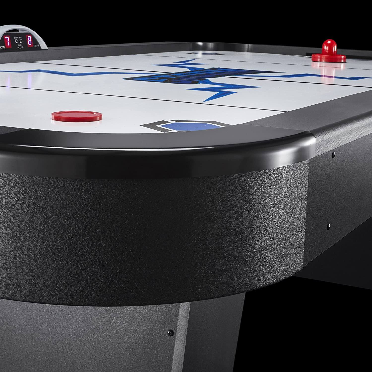 Fat Cat Storm MMXI 7-Foot Air Hockey Game Table Features