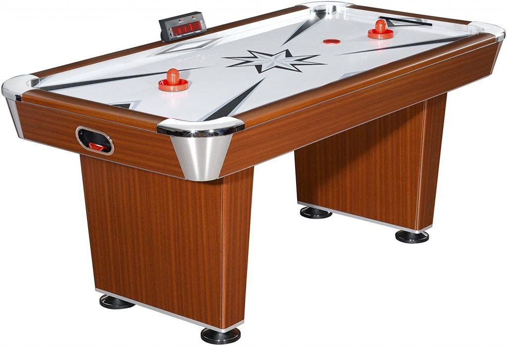 Hathaway Midtown 6' Air Hockey Family Game Table with Electronic Scoring